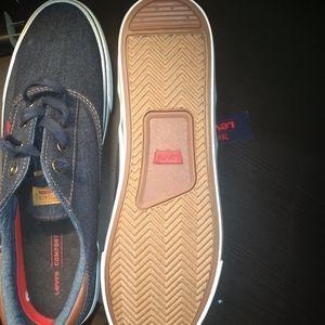 Denim Levi shoes